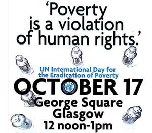 Image: UN International Day for the Eradication of Poverty 17 October
