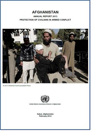 Image: Civilian Casualties in Afghanistan up 14% Last Year