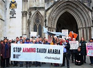 Image: Saudi arms sales ruled UNLAWFUL