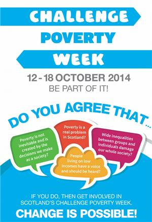 Image: Challenge Poverty Week 12-18 October 2014