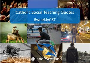 Image: Catholic Social Thought Quotations for 2018