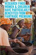 Image: Women and children benefit from the Fairtrade Premium investments