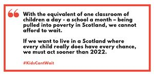 Image: Open Letter to the Scottish Government urging help for kids in Poverty