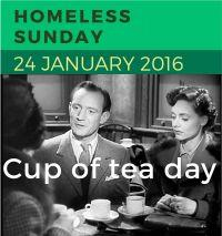 Image: Homeless Sunday 24 January 2016