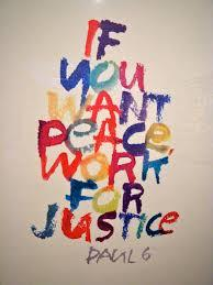 Image: Viewpoint: What is Justice and Peace?