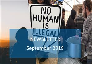 Image: September 2018 Newsletter