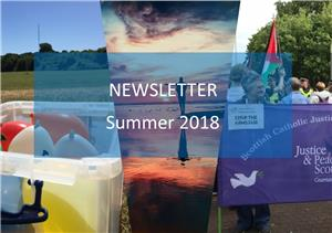Image: Justice and Peace Scotland Summer Newsletter 2018