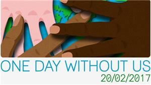 Image: One Day Without Us National Day of Action.