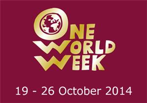 Image: This is One world Week