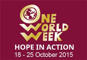 Image: One World Week 2015. 18th - 25th October