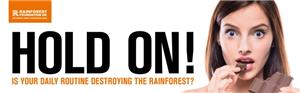 Image: Rainforest Foundation and Ethical Consumer Palm Oil Campaign