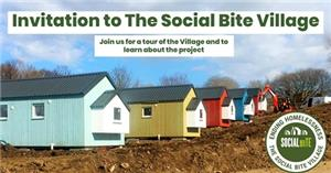 Image: Social Bite homeless village launches in capital